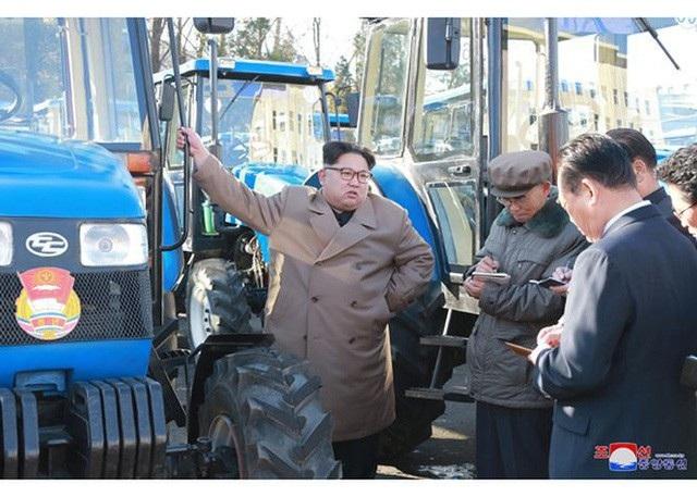 Nhà lãnh đạo Kim Jong-un từng tuyên bố muốn tập trung phát triển kinh tế của Triều Tiên (Ảnh: KCNA)