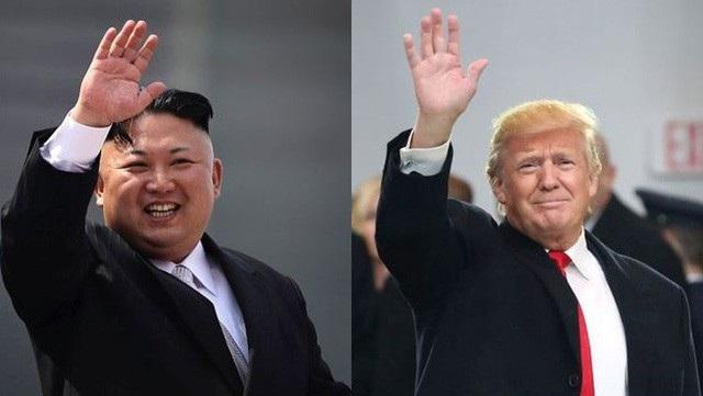 Nhà lãnh đạo Triều Tiên Kim Jong-un và Tổng thống Mỹ Donald Trump (Ảnh: Getty)