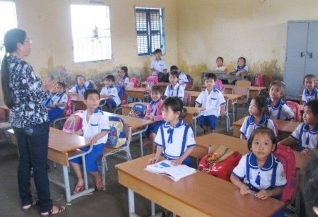 Một lớp học tại Cà Mau. (Ảnh minh họa)
