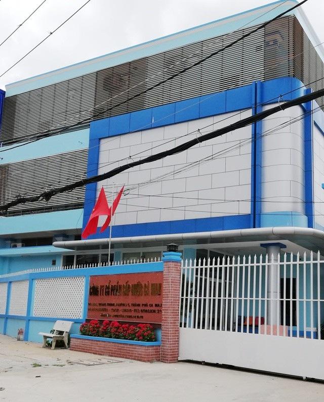 Công ty Cổ phần Cấp nước Cà Mau, nơi cho nhiều công nhân thôi việc sai quy định.