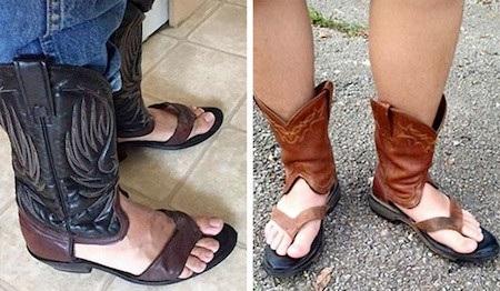 Đây chắc chắn là thiết kế giày lai dép ấu trĩ nhất từ trước đến nay