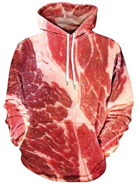 Quả là một chiếc áo thơm phức mùi thịt tươi
