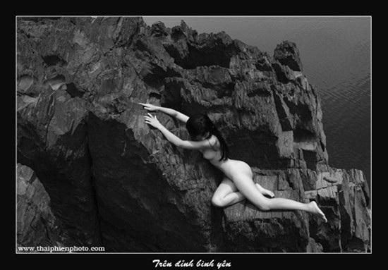 Tác phẩm Trên đỉnh bình yên của nhiếp ảnh gia Thái Phiên.