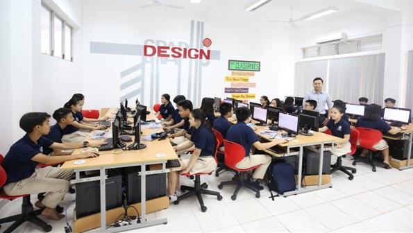 Học sinh UK Academy được học tập trong môi trường hiện đại đúng chuẩn quốc tế.