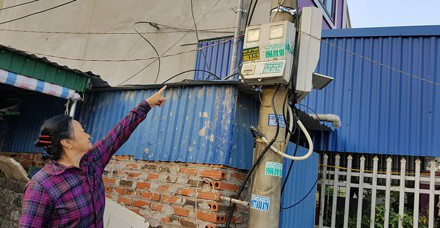 Một khách hàng bức xúc vì thay công tơ mà tiền điện lại tăng cao