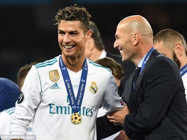 Thày trò Zidane, C.Ronaldo cùng nhau lập nên những kỷ lục vĩ đại ở Champions League