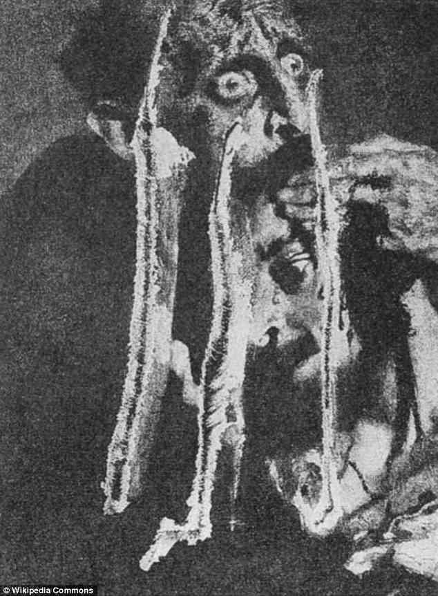 Bức tranh đã từng bị tấn công lần thứ nhất hồi năm 1913