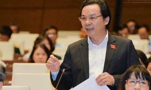 Đại biểu Hoàng Văn Cường (Hà Nội).