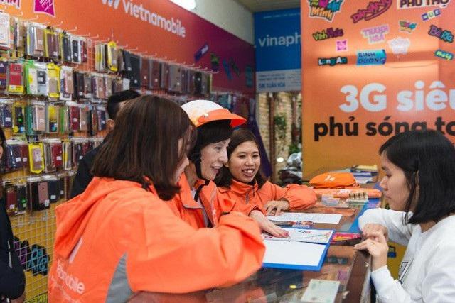 Vietnamobile sẽ chuyển từ 0188, 0186 về đầu 058 và 056