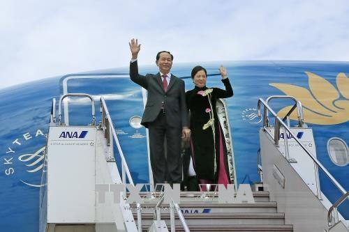 Nhật Bản bắn 21 loạt đại bác chào mừng Chủ tịch nước Trần Đại Quang - 1