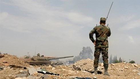 Quân đội Syria đang tích cực điều binh tới phía Nam, báo hiệu một cuộc chiến có thể sắp xảy ra ở khu vực này. Ảnh minh họa: Reuters.
