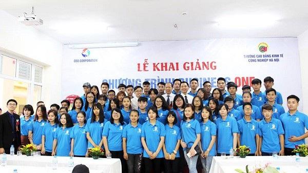 Sinh viên Business One tại Trường Doanh nhân CEO Việt Nam