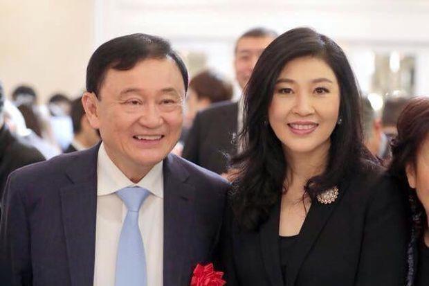 Anh em cựu Thủ tướng Thái Lan Thaksin và Yingluck Shinawatra (Ảnh: Bangkok Post)