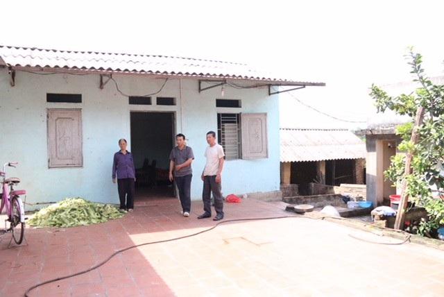 Hiện trường nơi nghi phạm Hà Thị Móc đầu độc chồng và cháu trai bằng thuốc chuột
