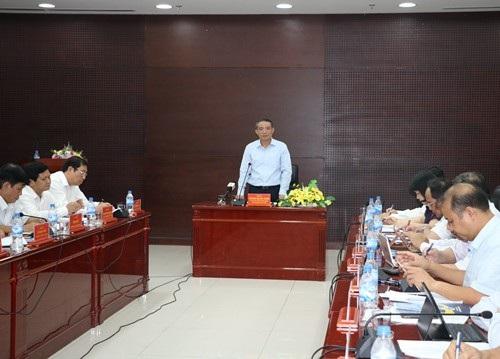 Ông Trương Quang Nghĩa - Bí thư Thành uỷ Đà Nẵng phê bình công tác nhân sự của Sở Kế hoạch - Đầu tư thành phố trong việc chậm bổ nhiệm Phó Giám đốc, dẫn tới mất đoàn kết