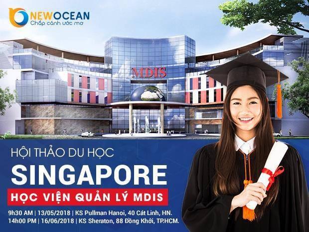 Du học Singapore cùng với học viện MDIS