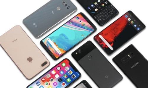 Samsung và Apple tiếp tục thống trị thị trường smartphone trong 3 tháng đầu năm 2018