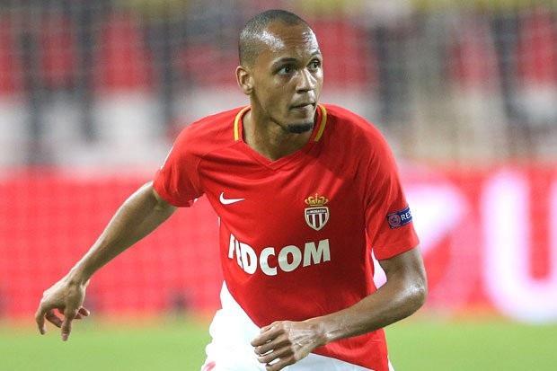 Fabinho trong màu áo Monaco