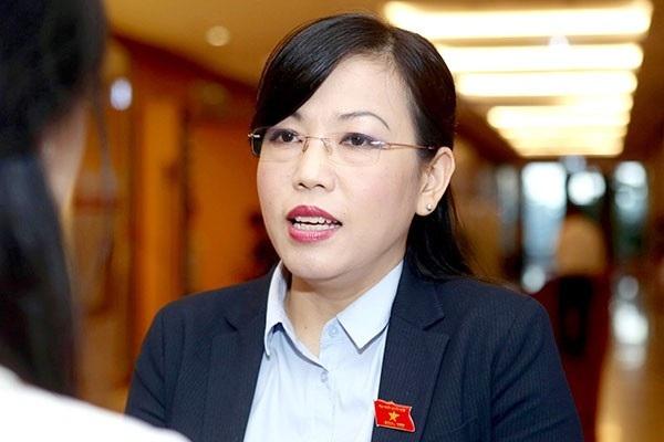Bà Nguyễn Thanh Hải - Trưởng Ban Dân nguyện của Quốc hội.