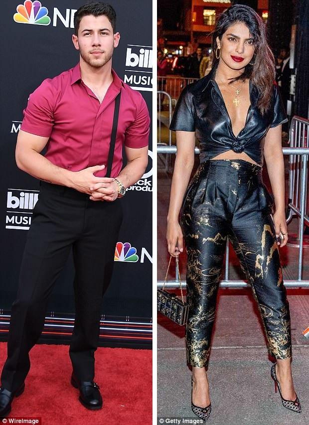 Rộ tin Nick Jonas đang hò hẹn với đàn chị Priyanka Chopra