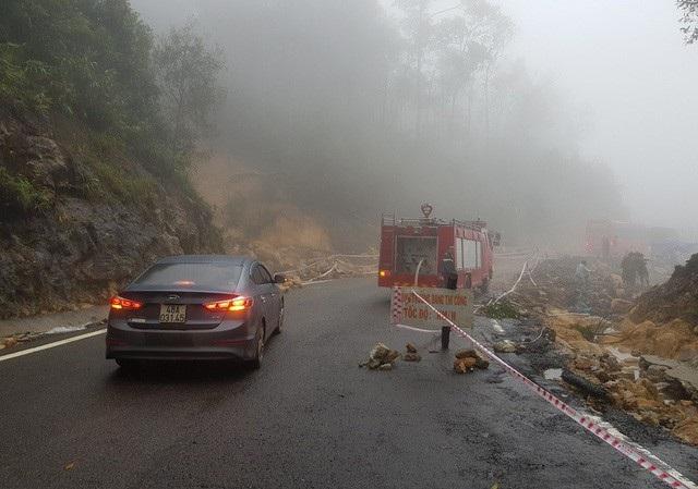 Đèo Khánh Lê luôn có sương mù dày đặc, sạt lở bất ngờ khi có mưa lớn
