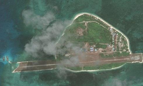Philippines xây dựng trái phép đảo Thị Tứ thuộc quần đảo Trường Sa của Việt Nam (ảnh: CSIS)