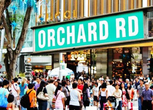 Tuyến phố mua sắm Orchard của Singapore