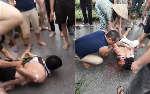 Người đàn ông nghi bắt cóc trẻ em ở Hưng Yên bị người dân vây đánh thực chất là đối tượng trộm cắp.