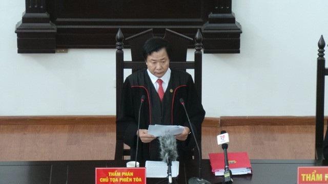 Chiều 4/5, HĐXX phúc thẩm TAND Cấp cao tại Hà Nội đã ra phán quyết cuối cùng đối với các bị cáo có đơn kháng cáo trong vụ án xảy ra tại Ngân hàng TMCP Đại Dương - Oceanbank.