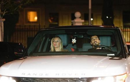 Vợ chồng Suarez cũng tham gia