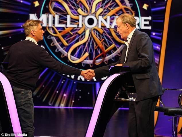 """MC mới của """"Ai là triệu phú?"""" phiên bản Anh - Jeremy Clarkson"""