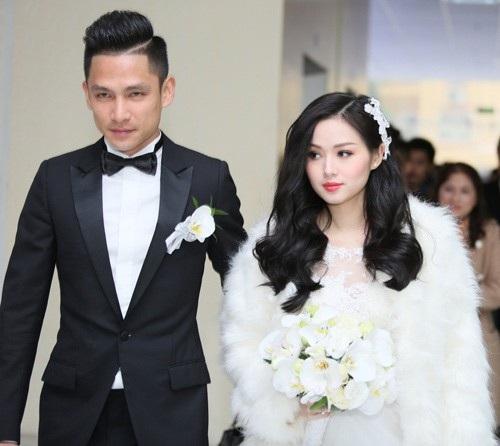 Đám cưới của Tâm Tít và Ngọc Thành diễn ra vào tháng 1/2015 tại một khách sạn sang trọng ở Hà Nội. Trong đám cưới, chàng doanh nhân trẻ đã mạnh tay chi 500 triệu đồng chỉ dành riêng cho việc trang trí.
