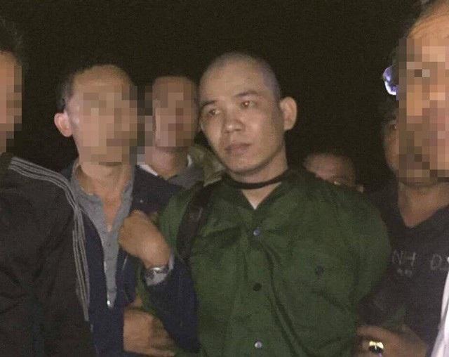 Nguyễn Văn Tình bị bắt khi đang lẩn trốn tại Hoà Bình.