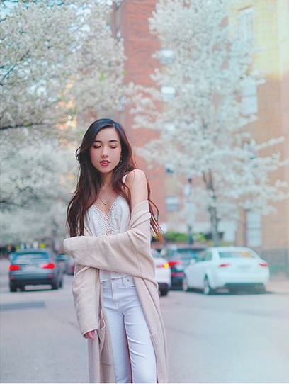 Mie Nguyễn - Hot girl Việt tại Mỹ nhận bằng tốt nghiệp loại giỏi - 12