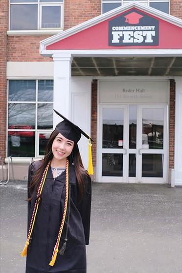 Mie Nguyễn - Hot girl Việt tại Mỹ nhận bằng tốt nghiệp loại giỏi - 6
