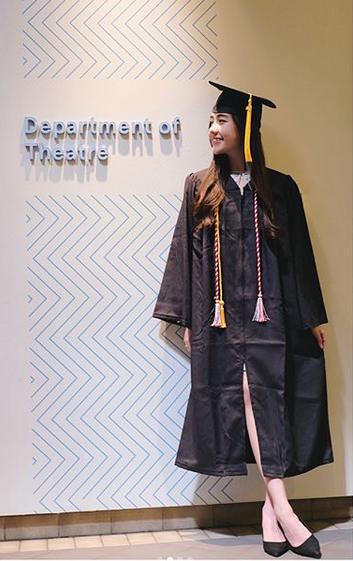 Một số hình ảnh khác của Mie trong lễ tốt nghiệp