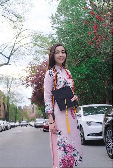 Mie Nguyễn - Hot girl Việt tại Mỹ nhận bằng tốt nghiệp loại giỏi - 3