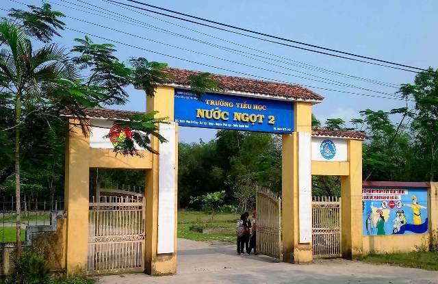 Nữ hiệu trưởng trường Tiểu học Nước Ngọt 2, huyện Phú Lộc đã làm sai nhiều chuyện từ kết luận tố cáo (ảnh: C.T)