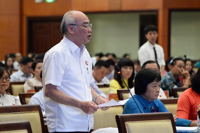 Phó trưởng đoàn chuyên trách đoàn ĐBQH TPHCM Phan Nguyễn Như Khuê
