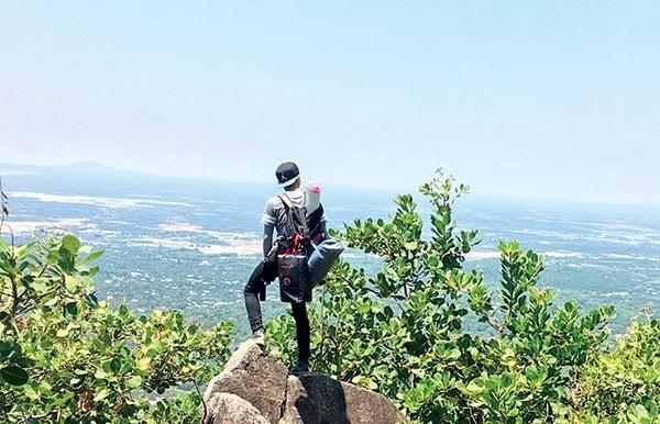 Cảnh đẹp trên núi Chứa Chan