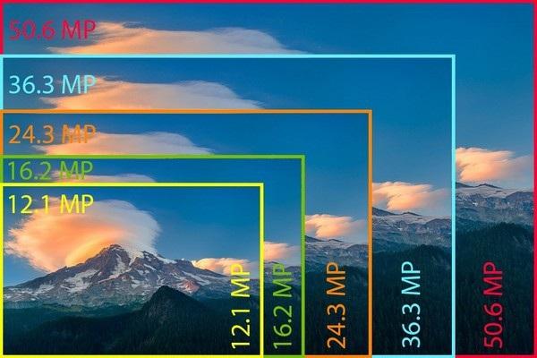 Máy ảnh có độ phân giải cao hơn cho hình ảnh lớn hơn, chứ không cho hình ảnh đẹp hơn