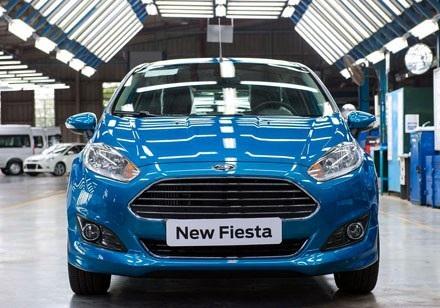 Tất cả các phiên bản của mẫu Fiesta tại Việt Nam được giảm giá