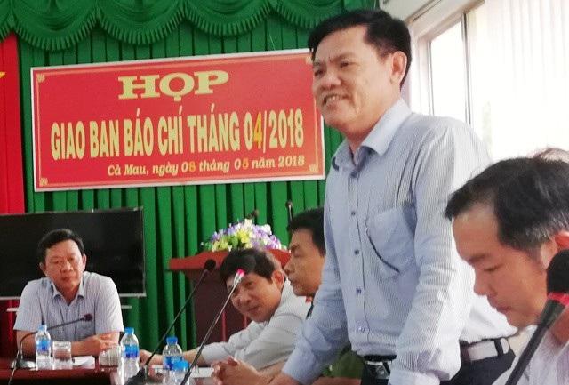 Giám đốc Sở Nội vụ tỉnh Cà Mau xác nhận có việc tỉnh này bổ nhiệm một Phó Giám đốc Sở khi chưa có bằng cao cấp chính trị.