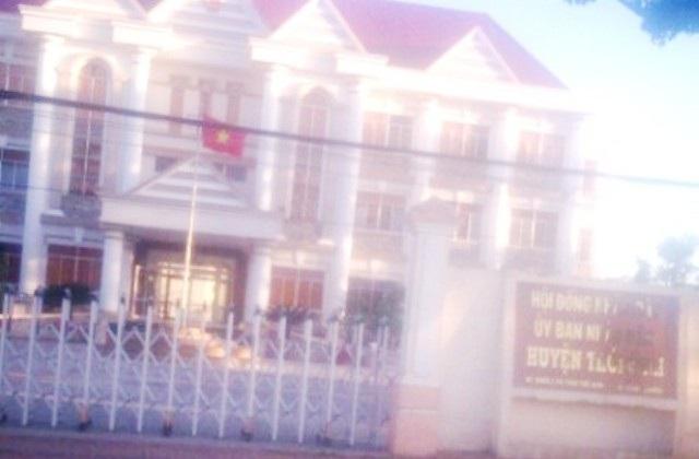 UBND huyện Thới Bình (Cà Mau) - nơi ông Nguyễn Tráng Kiện làm Phó Chủ tịch huyện.