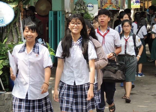 Sở GD-ĐT TPHCM điều chỉnh thêm 90 chỉ tiêu vào Trường THPT Mạc Đĩnh Chi (ảnh minh họa)
