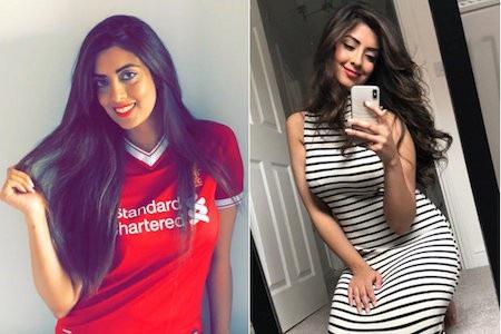 Noreen Khan là fan cuồng của Liverpool