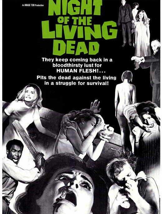 6. Night of the Living Dead (Đêm của những Xác sống - 1968)