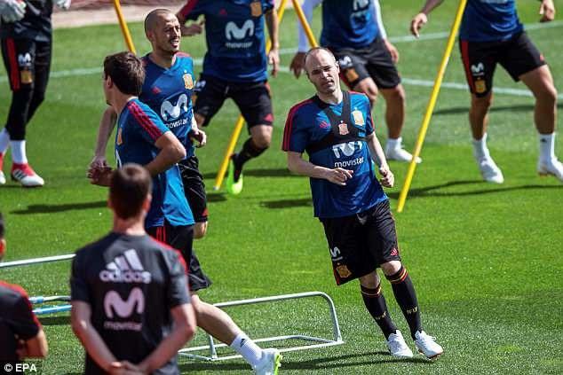 Iniesta hướng đến kỳ World Cup cuối cùng trong sự nghiệp