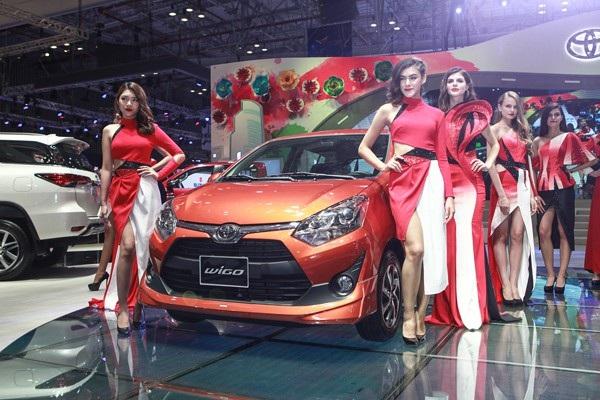 Mẫu xe giá rẻ Toyota Wigo dự kiến sẽ được nhập khẩu về Việt Nam trong thời gian tới
