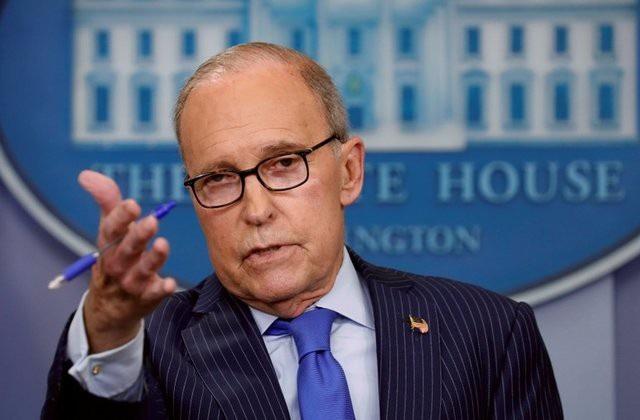 Cố vấn kinh tế Nhà Trắng Larry Kudlow (Ảnh: Reuters)
